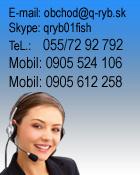 Pytajte sa všetko o rybárskych potrebách